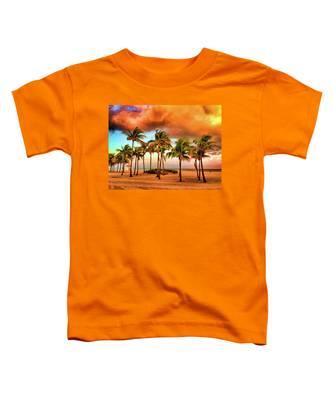 Crandon Park Beach Toddler T-Shirt