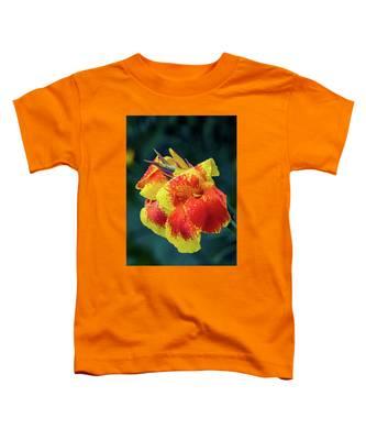Jungle Flowers Toddler T-Shirt by Ross Henton