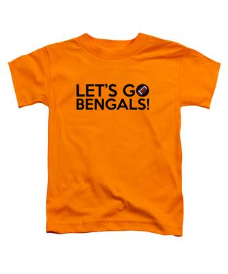 Let's Go Bengals Toddler T-Shirt