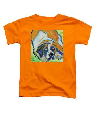 Orange Bernard Toddler T-Shirt