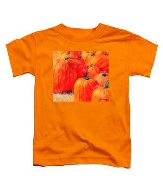 Painted Pumpkins Toddler T-Shirt