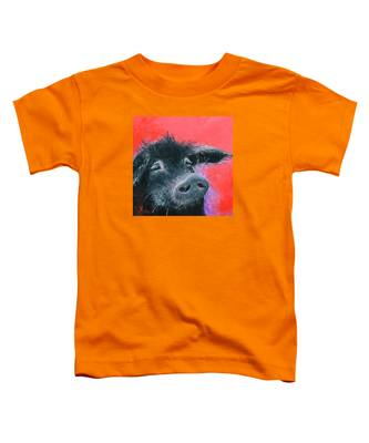 Percival The Black Pig Toddler T-Shirt