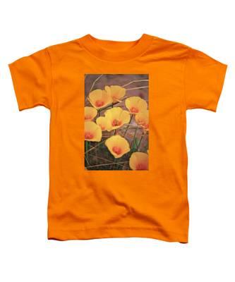 Poppies On Mount Lemmon Toddler T-Shirt