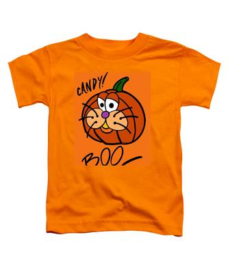 Pumpkincat Toddler T-Shirt