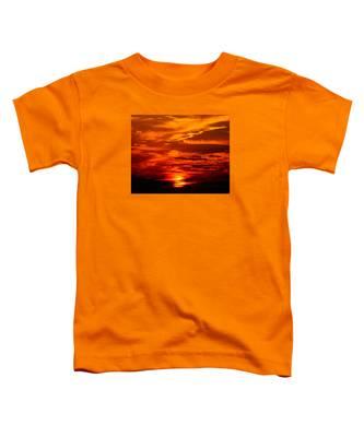 Sunrise Feathers Toddler T-Shirt