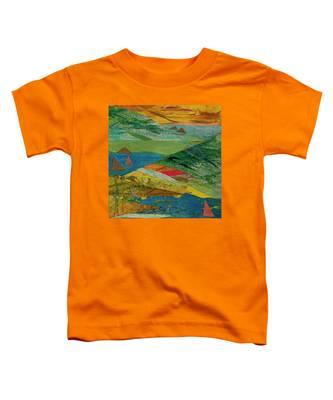 Sunset Sails 3 Toddler T-Shirt