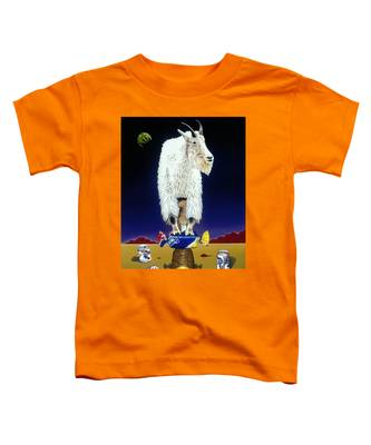 The Intoxicated Mountain Goat Toddler T-Shirt