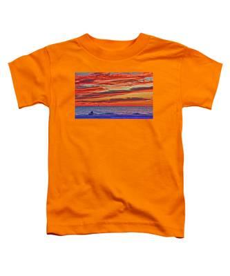 Tropical Gulf Nights Toddler T-Shirt