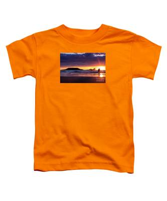 Wales Gower Coast Helvetia Toddler T-Shirt