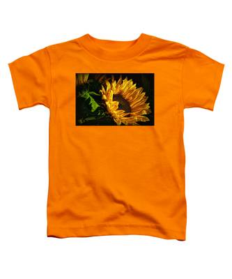 Warmth Of The Sunflower Toddler T-Shirt