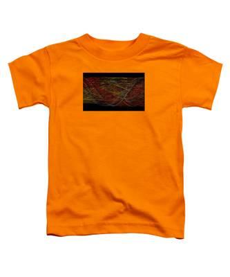 Abstract Visuals - Wavelengths Toddler T-Shirt