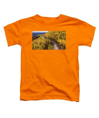 Winding Through Fall Toddler T-Shirt