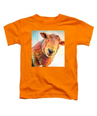 A Curious Sheep Called Shawn Toddler T-Shirt
