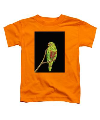 Colorful Parrot Toddler T-Shirt
