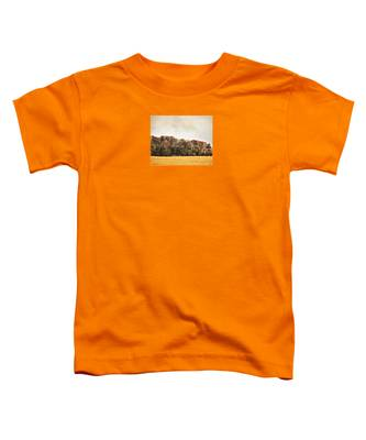 Three Crows And Golden Field Toddler T-Shirt