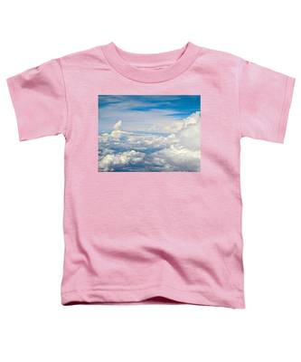 Above The Clouds Over Texas Image B Toddler T-Shirt