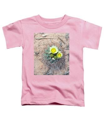 Barrel Cactus Blossoms Toddler T-Shirt