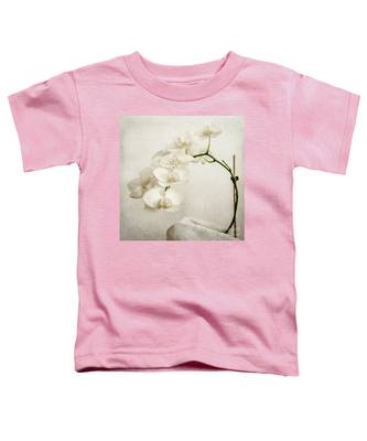 Beautiful White Orchid II Toddler T-Shirt