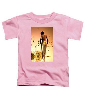 Her Morning Walk Toddler T-Shirt