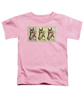 Horses Hand Drawing Toddler T-Shirt