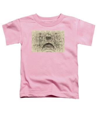 Lion Gate Jerusalem Old City Israel Toddler T-Shirt