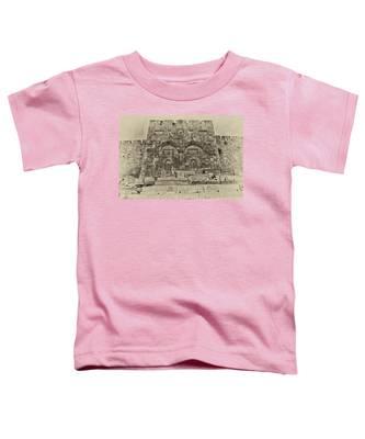 Outside The Eastern Gate Old City Jerusalem Toddler T-Shirt