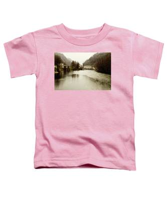 Power Plant On River Toddler T-Shirt
