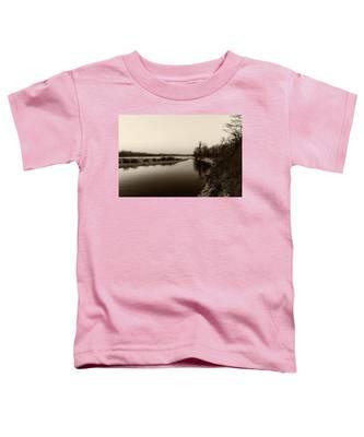 Sepia River Toddler T-Shirt