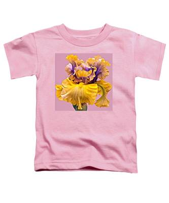 Spectacular Iris Close Up Toddler T-Shirt
