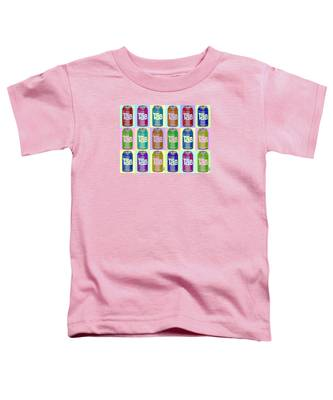 Tab Ode To Andy Warhol Repeat Horizontal Toddler T-Shirt