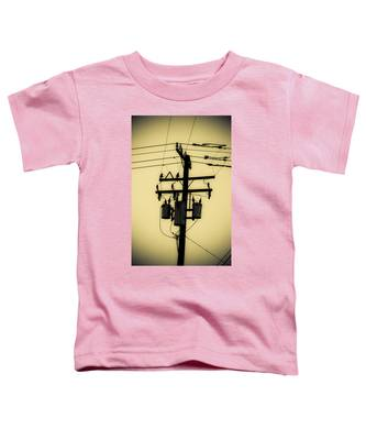 Telephone Pole 3 Toddler T-Shirt