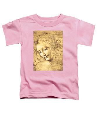 Testa Di Fanciulla Detta La Scapigliata Toddler T-Shirt