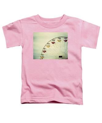 Vintage Ferris Wheel Toddler T-Shirt