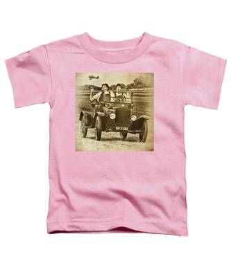 Not Likely Laurel And Hardly Hardy Toddler T-Shirt