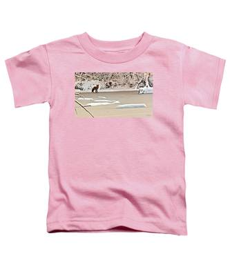 Winter Fox Toddler T-Shirt