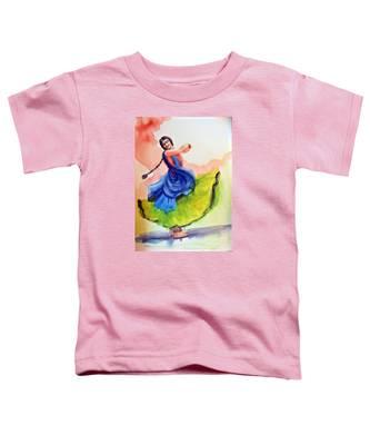 Kathak Dancer Toddler T-Shirt