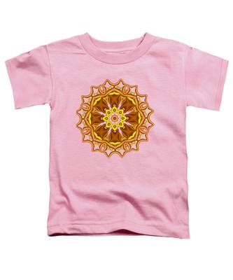 Bells And Flowers Toddler T-Shirt