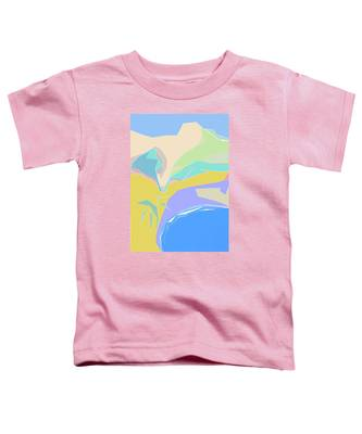 Coast Of Azure Toddler T-Shirt