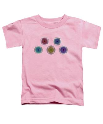 Five Flowers Toddler T-Shirt