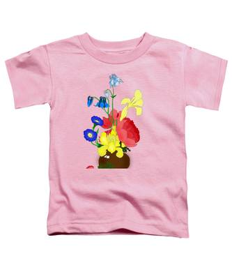 Floral Still Life 1674 Toddler T-Shirt