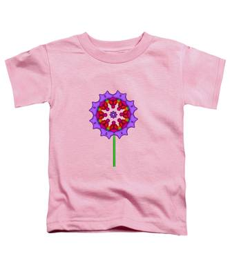Fractal Flower Garden Flower 02 Toddler T-Shirt