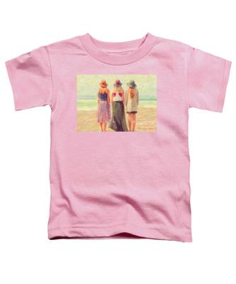 Girlfriends At The Beach Toddler T-Shirt