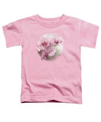 Graceful Orchids Toddler T-Shirt