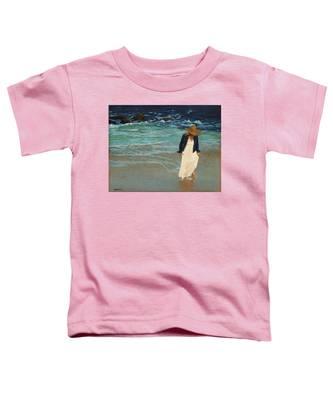 Leaving The Beach Toddler T-Shirt