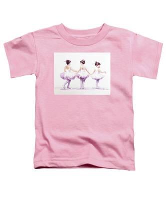 Little Ballerinas-3 Toddler T-Shirt