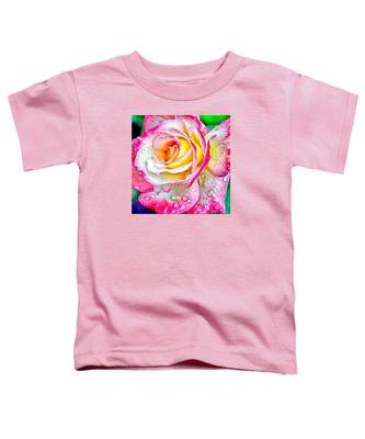 Radiant Rose Of Peace Toddler T-Shirt