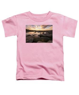 Rocky Shores Of Utah Lake Toddler T-Shirt