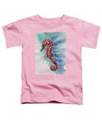 Seahorse 2 Toddler T-Shirt