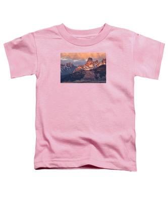 Snow On Chimney Rock Toddler T-Shirt