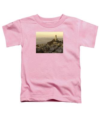 Sunset Over The Water Toddler T-Shirt
